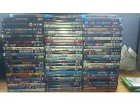 Dvd and blu ray bundle. Joblot. Wholesale. Horror, comedy, action.