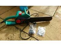 Bosch electric chainsaw £35