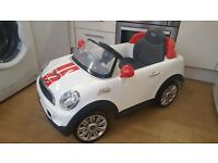 Mini Cooper S Coupe Kids 6V Electric Ride On - Excellent Condition