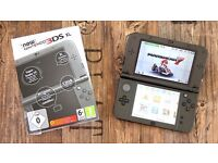 New Nintendo 3ds xl Metallic Black