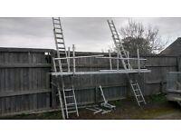 ladders boards scaffold poles 3rd bracket included
