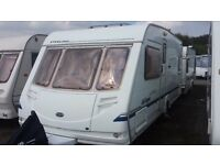 2004 FIXED BED STERLING 490 4 BERTH. GREAT CONDITION. AWNING & ACCESSORIES. CRIS REGISTERED. BARGAIN