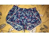 flowery shorts