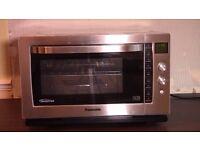 panasonic microwave oven stainless steel