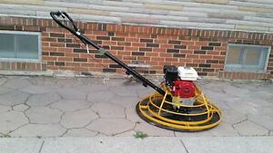 POWER TROWEL HONDA 24 36 INCH + FREE BLADES + FREE FLOAT PAN + 1 YEAR WARRANTY + FREE SHIPPING BRITISH COLUMBIA WIDE !!!
