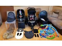 Quinny Buzz 3 Pushchair Pram Stroller Travel System Maxi Cosi Pebble Car Seat - And More