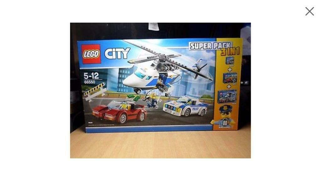 Lego city 3 in 1 brand new