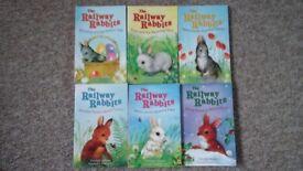 The railway rabbit books