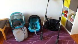 Maxi Cosi Loola full baby travel system buggy, car seat, all the extras!