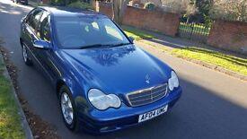 Mercedes C180 Kompressor 1800CC Petrol Classic 2004 04 Reg