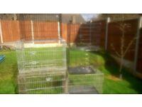dog crates/ beds