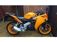 Honda CBR 125 R-F Orange like new