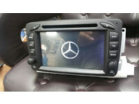 BRAND NEW MERCEDES C/CLK/G CLASS/VITO&VIANO VAN ANDROID CAR DVD/CD PLAYER*BUILT IN FULL EU MAPS