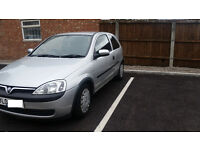 2002, Vauxhall Corsa Club 12V, 3 door hatchback for sale 600 Ł