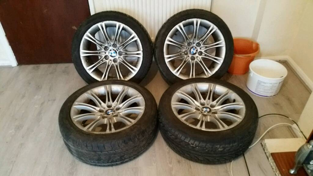 "BMW 18"" Mv2 M Sport Alloys 5 6 7 Series e60 e61 e39 5x120 VW Transporter"