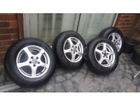 14 Volkswagon golf /polo alloys set x 4