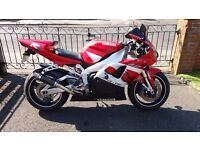 2001 Yamaha R1 full years MOT - open to sensible offers...