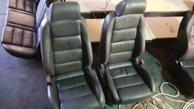 Vw Mk5 golf leather interior. Scirroco, Passat, polo, t5, t4 and caddy etc