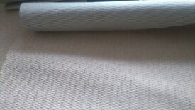 NEW quality carpet off cuts with woven backing for sale from 4£ to 34£ colour: cream