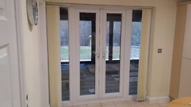 French Doors with 2 window panels