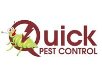 Guaranteed Pest Control of Bed Bugs, Cockroaches, Mice, Rats, Wasps, and Ants