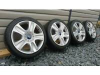 GENUINE FORD ALLOY WHEELS TITANIUM MONDEO CONNECT