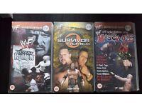 WWF Attitude Era Wrestling VHS Tapes (WWE)