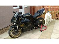 Yamaha R1, 2000 plate (2005 rear end) 31k miles, stunning one off sports bike. Not GSXR, ZXR, CBR.