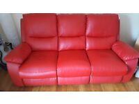 two and three seater reclining settees for sale