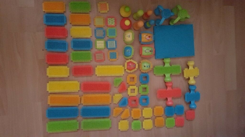 Battat Bristle Blocks (like stickle bricks)