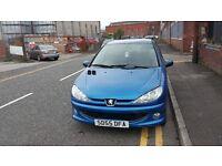 2005 (55 reg), Hatchback Peugeot 206 1.4 Verve 3dr £795 p/x welcome