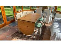 IKEA Folding Kitchen/Dining Table and 4 Chairs