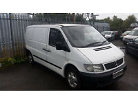 Mercedes Vito 2.2 cdi swap for dirtbike