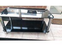 Glass Coffee Table (Black)