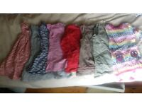 Bundle of baby girl clothes 3m-18m (58 items)