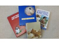 Hardcover Book 'SUCCESSFUL KNITTING' + 3 Folders of Patterns (Bag & Needles also available)