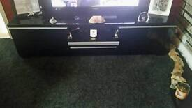 TV unit with upper dvd cabinet