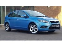 Ford Focus 1.6 Zetec Hatchback 5dr Petrol Automatic ((FSH+W.MILEAGE+IMMACULATE))