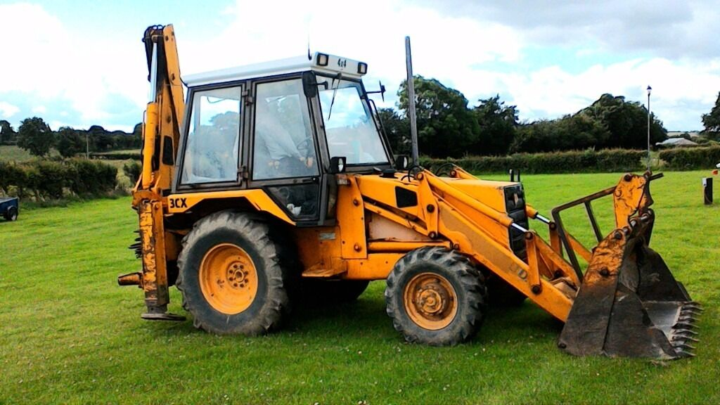 Done Deal Tractor >> Jcb 3cx grey cab non turbo full working order with extending boom 4 in 1 good all round ...