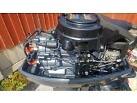 Zodiac inflatable boat and engine