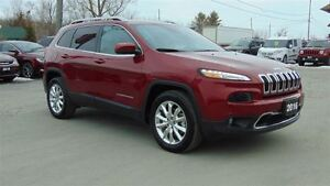 2016 Jeep Cherokee LIMITED 4X4 - SAFETYTEC - LUXURY GRP
