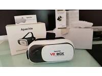 Apachie 2nd gen virtual reality 3D VR video glasses with Bluetooth controller
