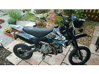 road legal 160cc pitbike registerd as 50cc shinray