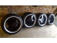"18"" replica Mercedes AMG alloy wheels with tyres"