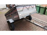 Erde Tipping Trailer for sale all in good working order approximate sizes 3ft x 4ft