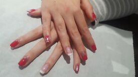 Ladies Hair Gel nails, Spray Tans done by a qualifed beautician and Hairdresser in your own home