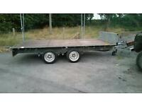 Ifor williams trailer twin axle flat bed