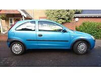 Vauxhall Corsa in good condition, regularly serviced, 11 months MOT, runs really well