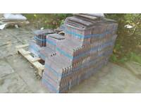 Job lot of marley eternite roof tiles 45 pack with 10 tiles per pack