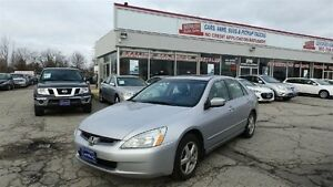 2004 Honda Accord Sdn, Sunroof, Leather!! EX